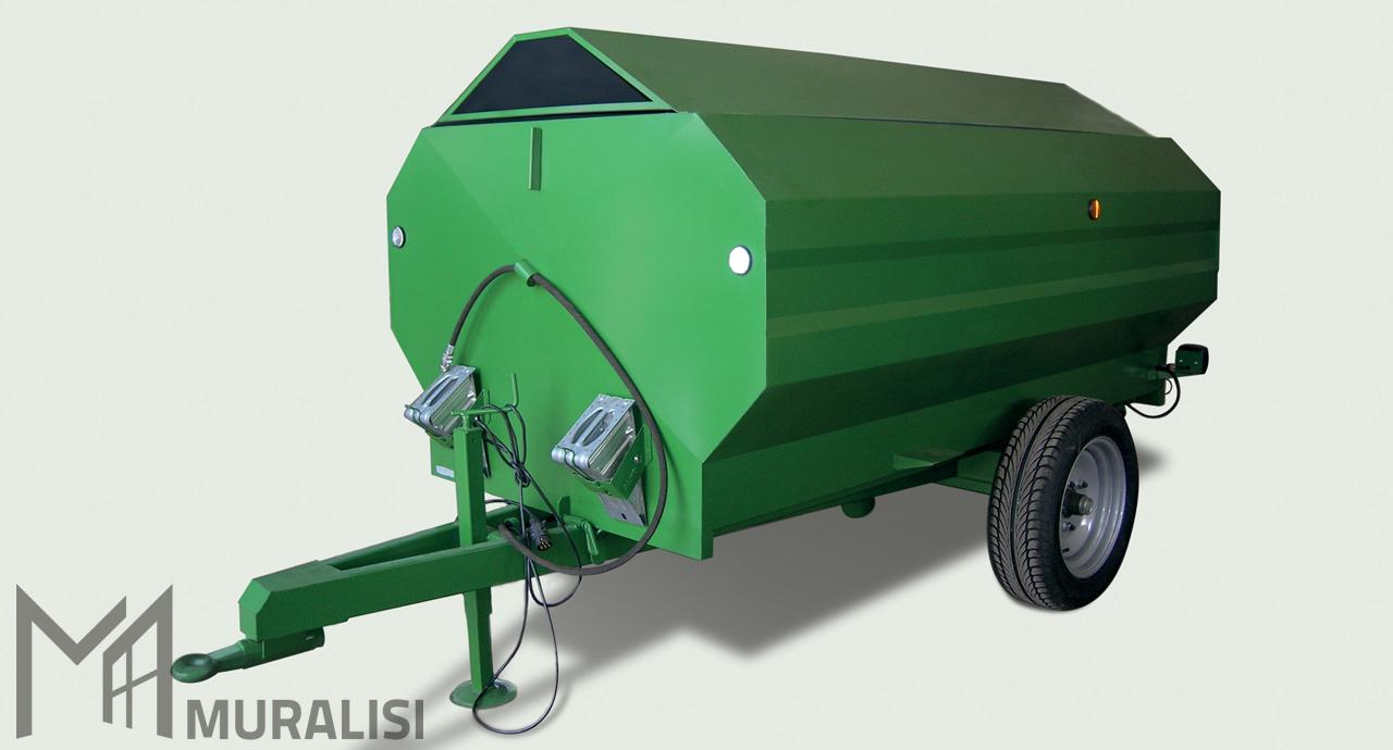 Rimorchi agricoli per trasporto merci dall 39 ampia portata for Rimorchi agricoli omp