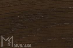 Masselli legno di Rovere tinto noce - Finestre e porte in rovere - Muralisi