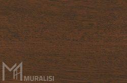 Colore infissi Quercia scuro – Finiture alluminio effetto legno touch – Muralisi