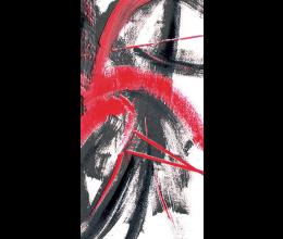 Vetri stampati astratti Laborvetro – Graffi di colore AP