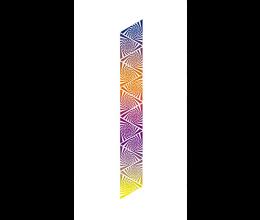 Vetri stampati astratti Laborvetro – Graffi di colore BL