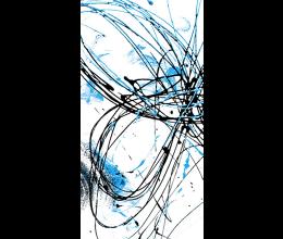 Vetri stampati astratti Laborvetro – Graffi di colore CZ