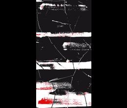 Vetri stampati astratti Laborvetro – Graffi di colore FO
