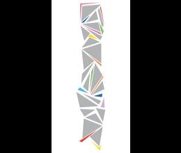 Vetri stampati geometrici Laborvetro – Tripudio di forme CR