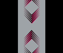 Vetri stampati geometrici Laborvetro – Tripudio di forme FH