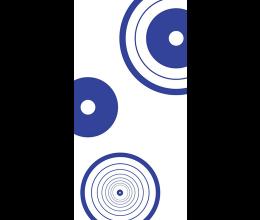 Vetri stampati geometrici Laborvetro – Tripudio di forme FT
