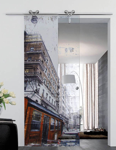 Porte in vetro scorrevoli Laborvetro – Esplosione di stile DP