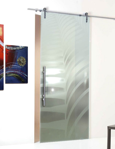 Porte in vetro scorrevoli Laborvetro – Tripudio di forme AS