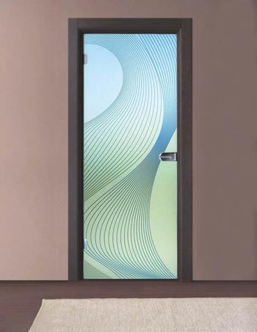 Porta in vetro battente Laborvetro – Tripudio di forme BC