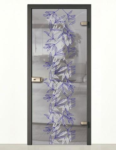 Porta in vetro anta singola Laborvetro – Sintonia CI