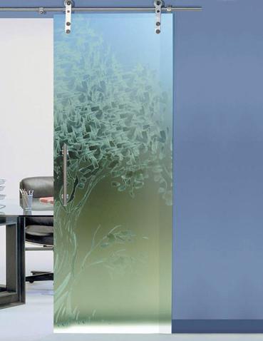 Porte interne scorrevoli in vetro – Laborvetro – Sintonia AC