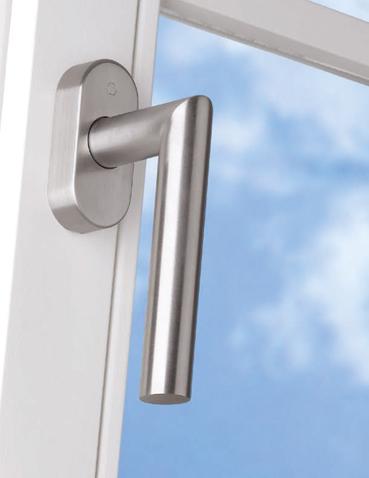 Realizzazione maniglie per finestre Hoppe - Amsterdam