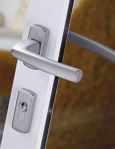 Realizzazione maniglie con serratura Hoppe - Acapulco