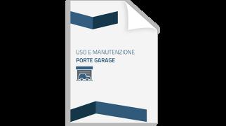 Thumbnail Uso e Manutenzione porte garage