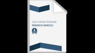 Thumbnail Uso e Manutenzione rimorchi agricoli