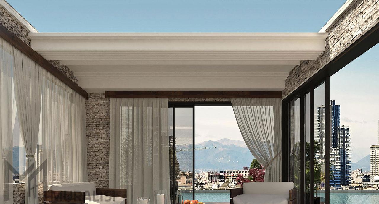 Gallery arquati roof